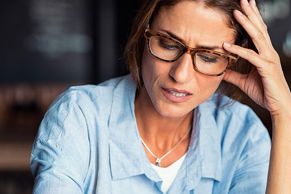 In menopausa si diventa ansiose e smemorate?